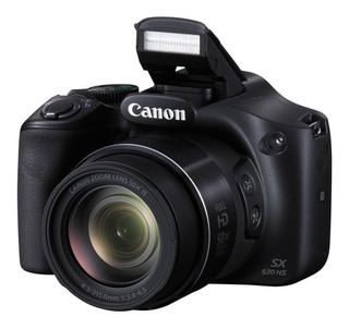Camara Canon Powershot Sx530 Hs 16mp Zoom 50x Full Hd