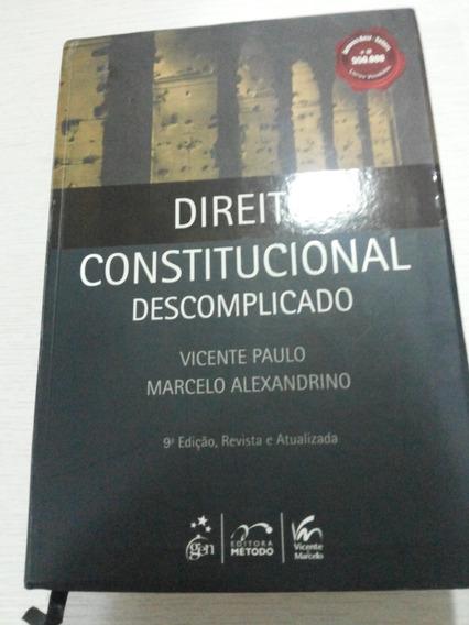 Direito Constitucional Descomplicado - 9ª Ed