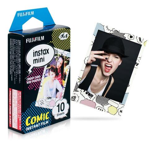 Imagen 1 de 3 de Fujifilm Cartucho Fuji Instax Mini Comic 10 Hojas