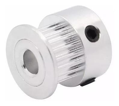 Polia Gt2 Passo 2mm 20 Dentes Alumínio - Correia 6mm