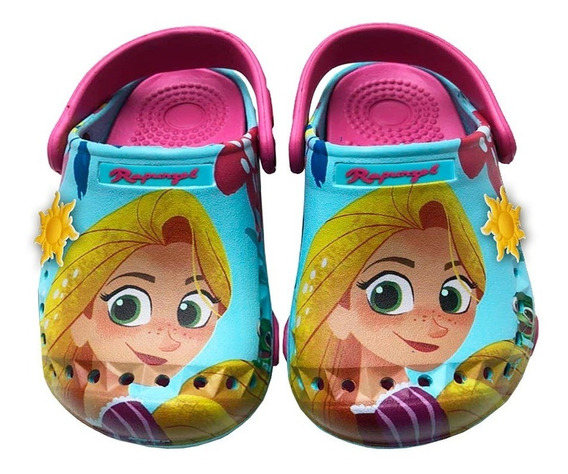 Sandalias Addnice Disney Rapunzel Summer Aqua