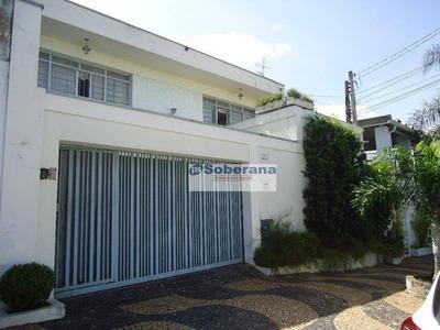 Casa Residencial À Venda, Jardim Leonor, Campinas. - Ca2680