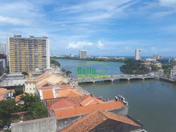 Sala À Venda, 53 M² Por R$ 110.000 - Boa Vista - Recife/pe - Sa0319