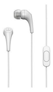 Fone de ouvido Motorola Earbuds 2 branco