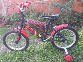 Bicicleta Kawasaki Infantil Rodado 16