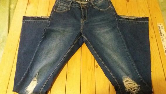 Pantalón Jean Para Damas Americano Talla 4