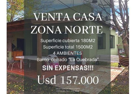 Venta Casa Pilar Barrio Cerrano Sin Expensas