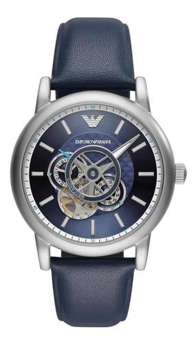 Relógio Empório Armani Masculino Luigi Meccanico Ar60011/0pn