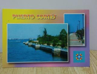 Cartão Postal Da Cidade De Puerto Cortés-1unid