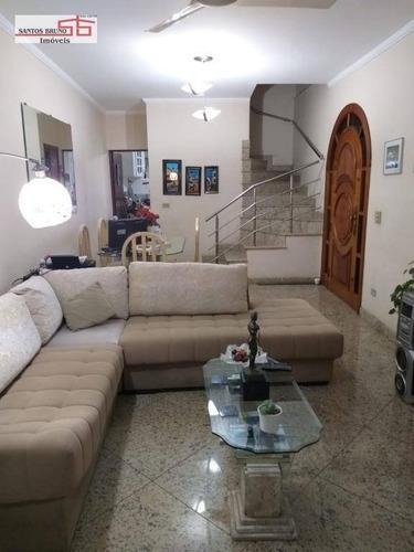 Sobrado Com 3 Dormitórios À Venda, 160 M² Por R$ 620.000,00 - Pirituba - São Paulo/sp - So1221