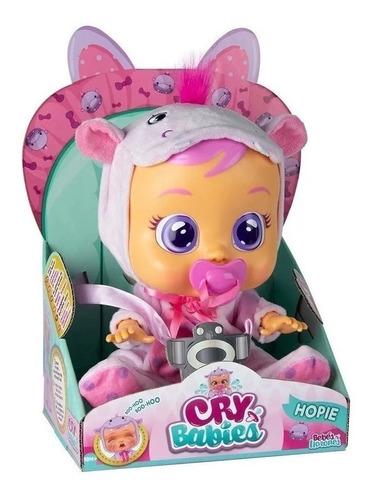 Imagem 1 de 3 de Boneca Cry Babies Hopie Chora Com Sons E Lágrimas De Verdade