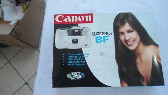 Máquina Fotográfica Canon Sure Shot Bf -