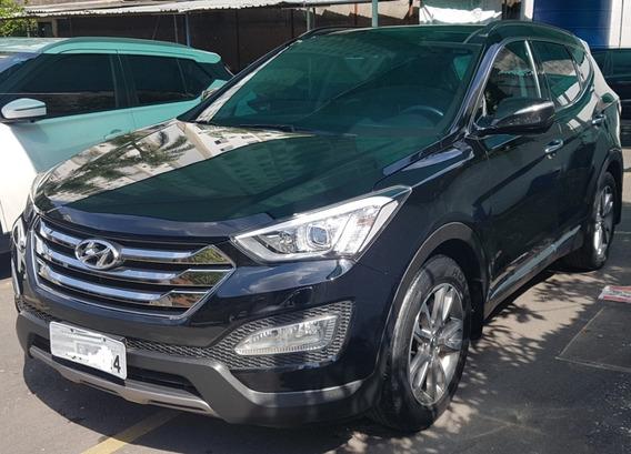 Hyundai Santa Fé 2015 7 Lugares Interior Terracota Com Teto