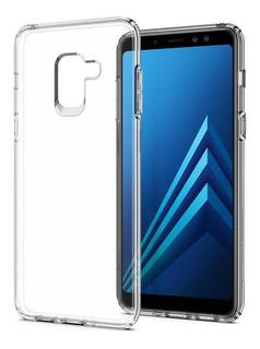 Capa Protetora Cristal Case Transparente Galaxy A8 Plus