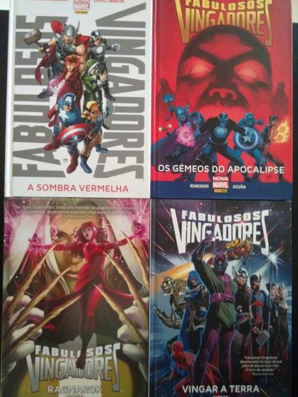 Fabulosos Vingadores Sombra Vermelha + 3