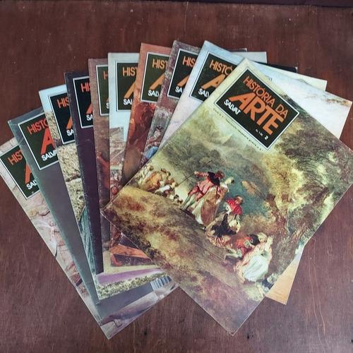 Lote 11 Revistas História Da Arte - Salvat De 1978