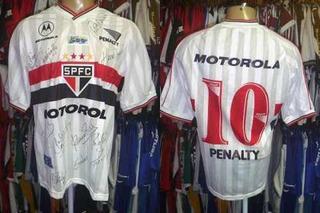 São Paulo 2000 Camisa Titular Brasil 500 Anos Tamanho M # 10