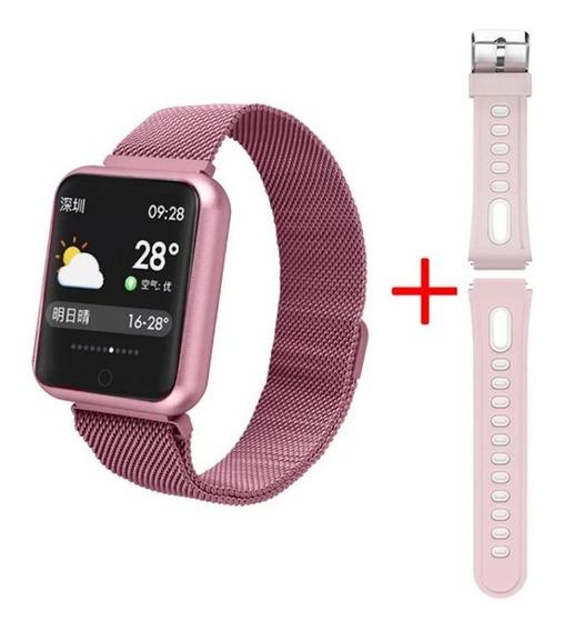 Relógio Smart Watch P68 À Prova D