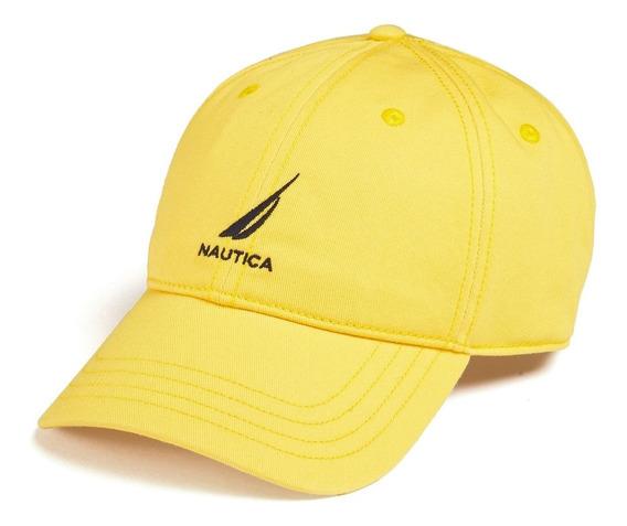 Gorra Nautica Estilo Hr8401 Pulp Yellow Unitalla