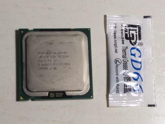 Processador Core 2 Quad Q8400 775 Intel 2.66ghz 4mb + Pasta
