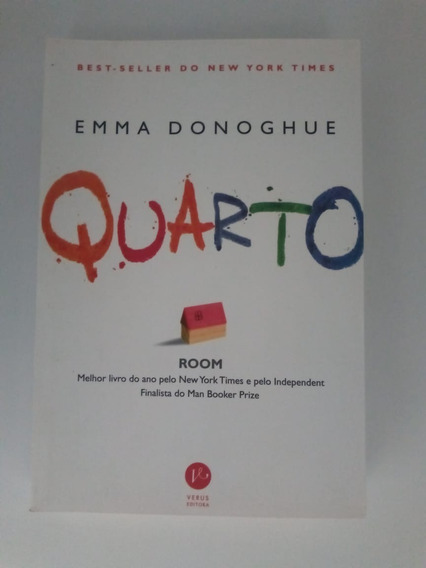 Livro Quarto De Emma Donoghue - Um Romance Que Choca. Verus