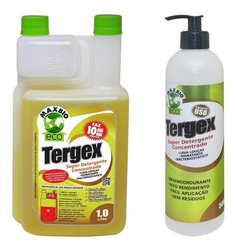 Detergente Super Concentrado Tergex Maxbio 01 Litro