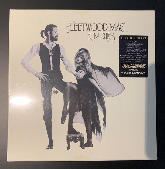 4 Cds + Dvd + Lp - Fleetwood Mac Rumours Box Deluxe Edition