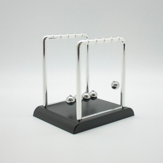 Pendulo Newton Movil Impacto Escritorio Morph