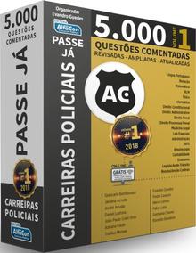 Passe Já - 5.000 Questões - Carreiras Policiais - Volume 1