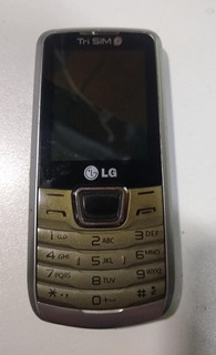 Celular Lg A290 Trio Chip Três Chips + Brinde Exclusivo