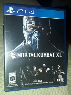 Mortal Kombat Xl + Resident Evil Vii Ps4 Como Nuevos