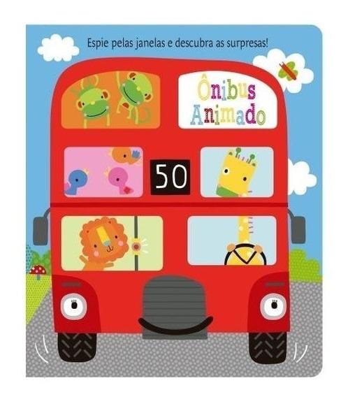 Ônibus Animado Espie Pelas Janelas E Cante A Roda Do Ônibus