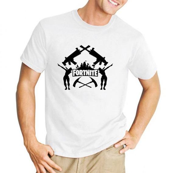 Remera Fortnite Logo Jueguitos Videojuegos Infantil M1