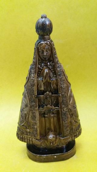 Imagem De Nossa Senhora Aparecida Em Betume 20cm