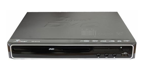 Dvd Player Mp3 Hdmi 1080p Filmes Musica Promoção Kp-d112