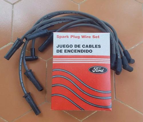 Cables De Bujia Ford Bronco 6 Cil F-100 F-150 F-300 F350