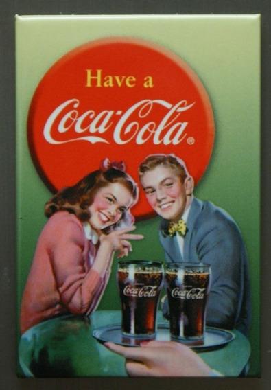 Poster Vintage Retro Publicidad Coca-cola 30 X 40 Cm.