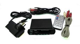 Modulo Usb Con Bluetooth Y Control Remoto - Listo Para Usar