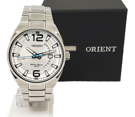 Relógio Masculino Social Orient Mbss1336 Original Nf-e Aço