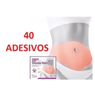 40 Adesivos Emagrecedor Adesivo De Emagrecimento Slim Patch