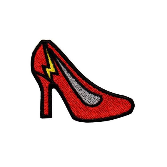 Patch Talysma Modinha P/ Jaqueta Calça Jeans Sapato Vermelho
