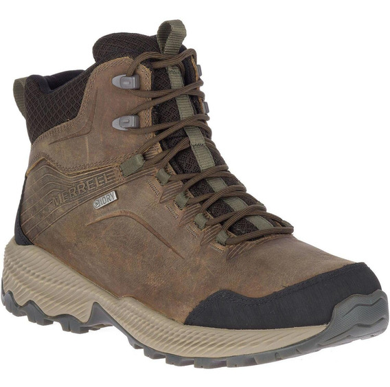 Botin Hombre Forestbound Mid Waterproof Gris Merrell