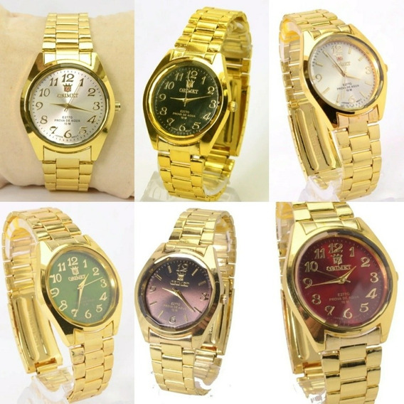 Relógio Feminino Kit Com 10 Unidades Atacado 12x