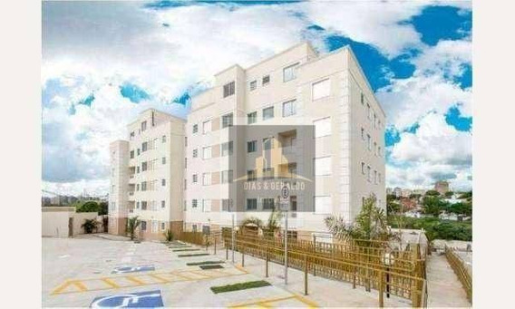 Apartamento Com 2 Dormitórios À Venda, 50 M² Por R$ 190.000,00 - Jardim América - São José Dos Campos/sp - Ap0041