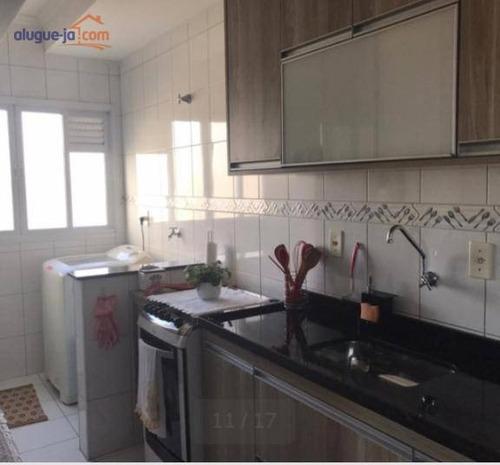 Apartamento Com 2 Dormitórios À Venda, 65 M² Por R$ 320.000 - Jardim América - São José Dos Campos/sp - Ap12753