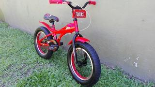 Bicicleta Sbk Hunter Fat Cuadro Aluminio Niño R16