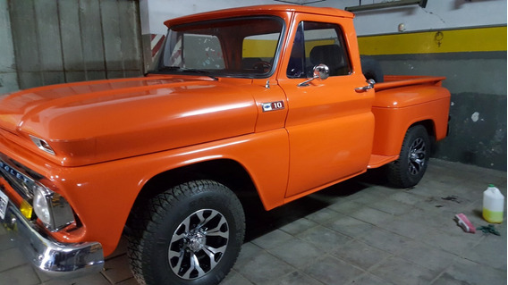 Chevrolet Pick Up 1965 Restaurada A Nuevo
