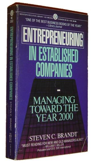 Entrepreneuring In Established Companies Steven Bra Livro /