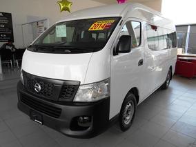 Nissan Urvan Panel Amplia Ventanas Std 2014