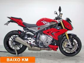 Bmw - S 1000 R - 2016 Vermelha - Baixo Km